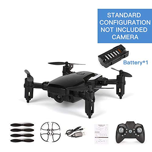 LF606 Mini Pocket RC Drone Quadcopter Telecomando Pieghevole Droni Altitude Hold Giocattoli RC Altitude Hold modalità Headless - Nero