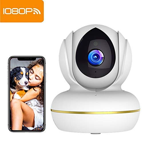 SuperEye 1080P WLAN Kamera mit Nachtsicht,Überwachungskamera WLAN IP Kamera Indoor,Smart Home WiFi...