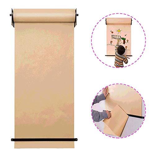 Kraft Carta in Rotolo, A Natural Eco-Kraft Carta da Regalo Roll, è Ideale per imballaggio,...