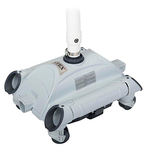 Intex robot de piscine nettoyeur automatique aspirateur for Aspirateur piscine sans filtration