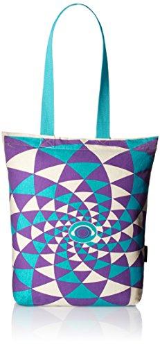 Kanvas Katha Women's Zipped Fashion Tote (Ecru) (KKCAMZ013)