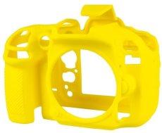Delamax easyCover - Funda compatible con Nikon D600 y Nikon D610, color amarillo
