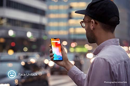 OnePlus 6 Smartphone débloqué 4G (Ecran : 6,28 pouces - 8 Go RAM - 128 Go stockage - Double SIM - Android) Mirror Black - Ecouteurs non-incl... 29