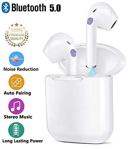 Nxingde Auricolare Bluetooth, Cuffie Bluetooth 5.0 Auricolari Wireless Sportivi in Ear con Custodia...