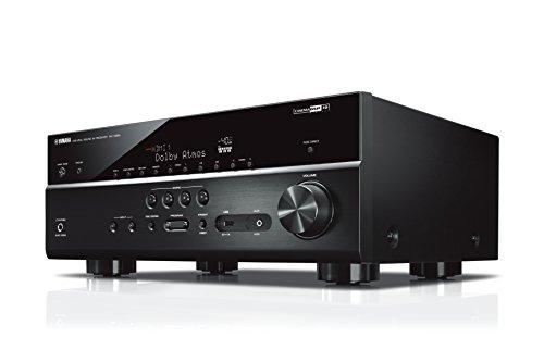 Yamaha AV-Receiver RX-V685 MC schwarz - Netzwerk-Receiver mit außergewöhnlichem 7.2 Music Cast Surround-Sound - das Allround-Talent im Heimkino-System - Alexa Sprachsteuerung