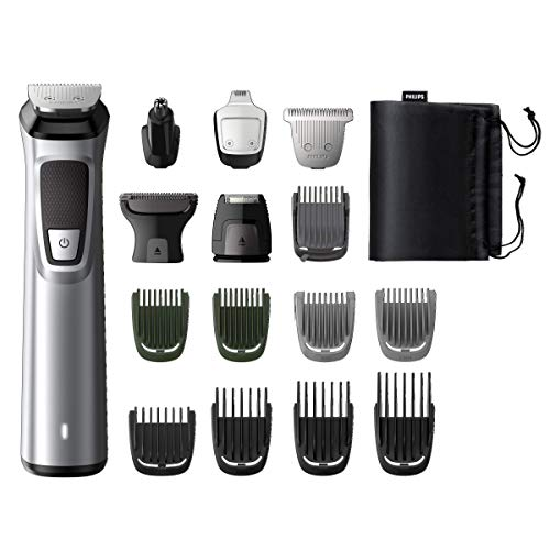 Philips MG7730/15 Serie7000 Grooming Kit, Rifinitore Impermeabile 16in1 per Barba, Capelli e Corpo,...