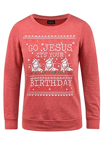414936c61cde32 Desires Christi Women's Christmas Jumper Sweat Fun Pullover Crew Neck. Sale!  🔍. Amazon.co.uk ...
