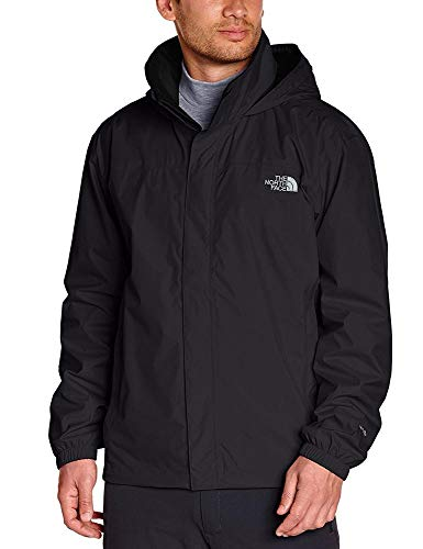 The North Face, M Resolve Jkt, Giacca, Uomo, Nero (Tnf Black), S