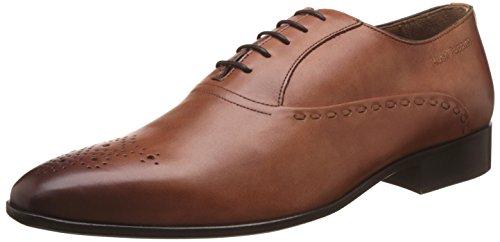 58607cd96e2 Hush Puppies Men s Elan Oxford Tan and Light Brown Formal Shoes – 7  UK India (41 EU) (8243961)