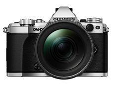 "Olympus OM-D E-M5 Mark II - Cámara Evil de 16.1 MP con Objetivo M.ZUIKO EZ 12-40mm f/2.8 (Pantalla 3"", estabilizador, grabación de vídeo), Color Plata"