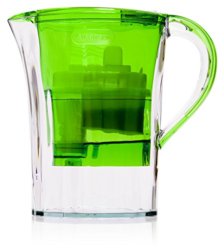 Cleansui GP001 1.9L water filter jug with cartridges bundle (green) (1 month of Cleansui Verbatim 54078 GPCAC3)