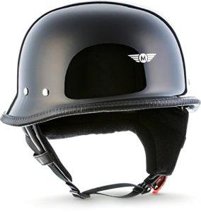 MOTO Jet-Helm Braincap Bobber Halbschalen 8