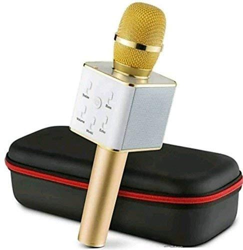 Lizzie Q7 Wireless Karaoke Microphone with Bluetooth Speaker
