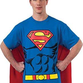 Rubbies - Disfraz de Superman para hombre, talla XL (880470_XL)