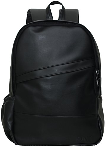 Rare And Demanded Leatherette 20 Ltr Black Laptop Backpack