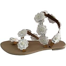 Sandales tongs femmes- chaussures plates pas cher