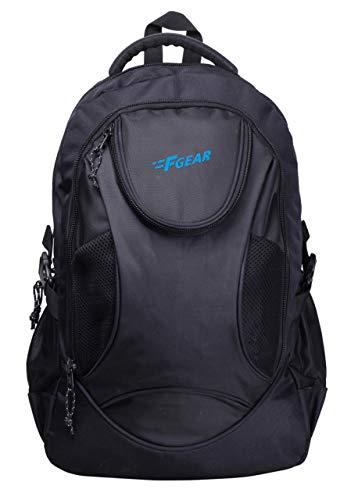 F Gear Sniper Lite V2 30 Liters Black Laptop Backpack