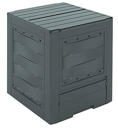 Gardiun Ambition Compostador Negro 60x60x73 cm