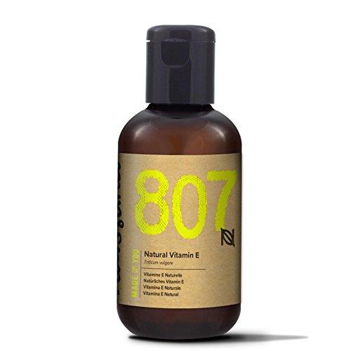 Naissance Olio di Vitamina E Naturale, Vegano, Cruelty Free, senza Esano, senza OGM - 60ml
