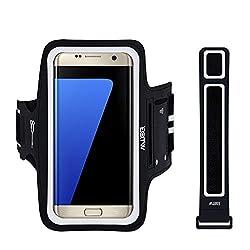 Kaufen EOTW Sportarmband Handyhülle universell Passend für Samsung Galaxy S7/S6/S5, Ideal für Sport, Freizeit Aber Auch in der Arbeit praktisch zu Verwenden (5,1 Zoll, Schwarz)
