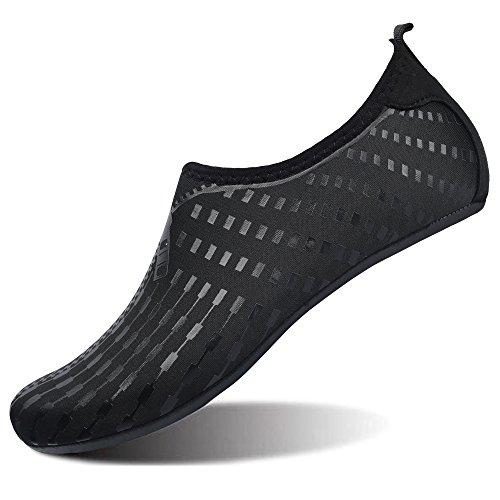 JOINFREE Zapatos de Agua de Verano para Mujeres Zapatos Descalzos de Natación para Hombres Calcetines de Aqua de Secado Rápido Yoga