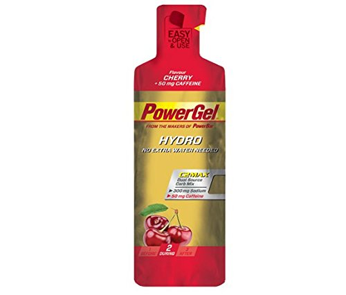 Gel Energético Power Gel HydroMax PowerBar 12 x 67ml Cereza y Cafeina