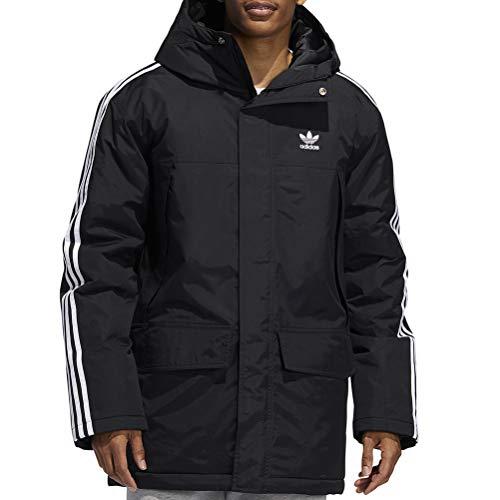 adidas Fur Parka Padde, Giacca Sportiva Uomo, Black, XS