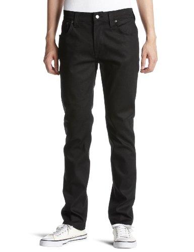 Nudie Jeans Thin Finn black coated