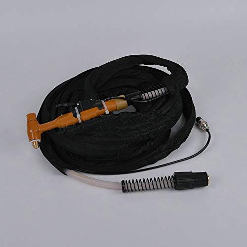Semiautomático argón arco soldadura pistola material de silicona con cola larga 1 sandwich 1 boquilla de porcelana 2 5m longitud de línea actuando sobre metal 150A