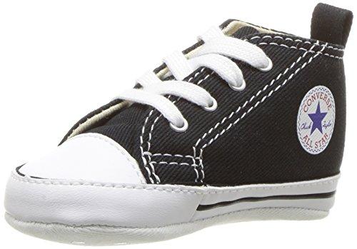 Converse First Star Cvs 022110-12-8  Sneaker unisex bambino, Nero (Schwarz (Noir)), 18