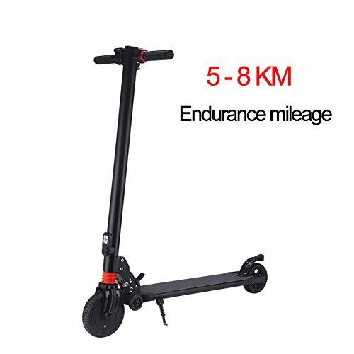 DYS@ Scooter Elettrico-Leggero, Pieghevole E Facile da Trasportare, Mini-Scooter Elettrico A Due...