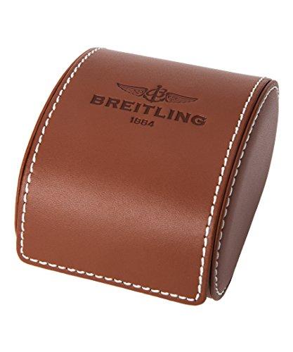 Breitling Damen braun Krokodil Leder Band Stahl Fall S. Saphir Automatik Uhr u4131053-q600ls - 3