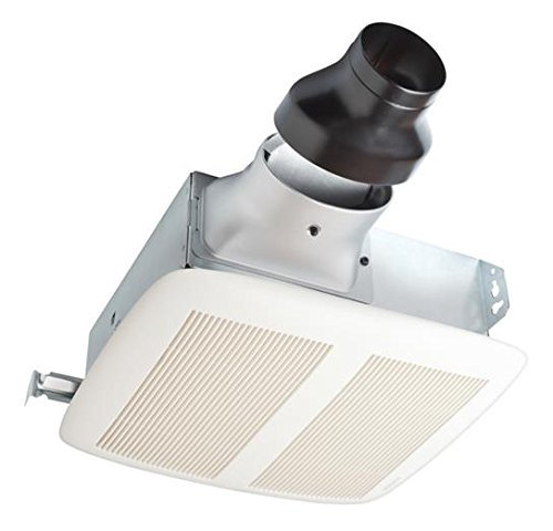 Broan LPN80F 80 CFM LoProfile Ventilation Fan Project Finish Pack with White Grille