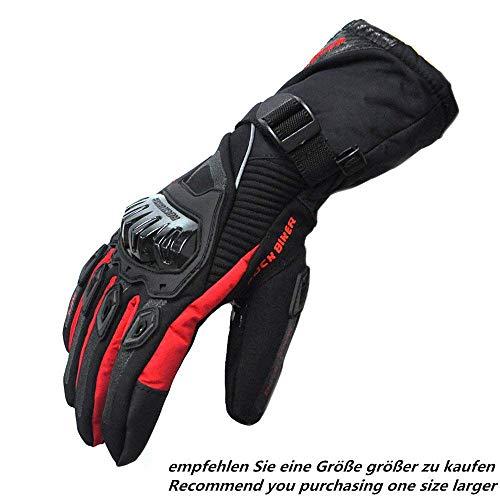 Motorrad Handschuhe Winter Warm Handschuhe Touch Screen Wasserdicht Winddicht Schutz Handschuhe 1