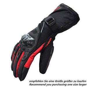 Motorrad Handschuhe Winter Warm Handschuhe Touch Screen Wasserdicht Winddicht Schutz Handschuhe 5