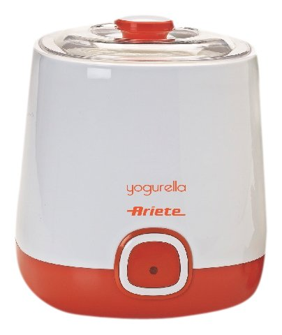 Ariete 621/1 Yogurella Yogurtiera Elettrica con Accessorio per Yogurt Greco, 20 W, 1 Liter, Plastica, Arancione