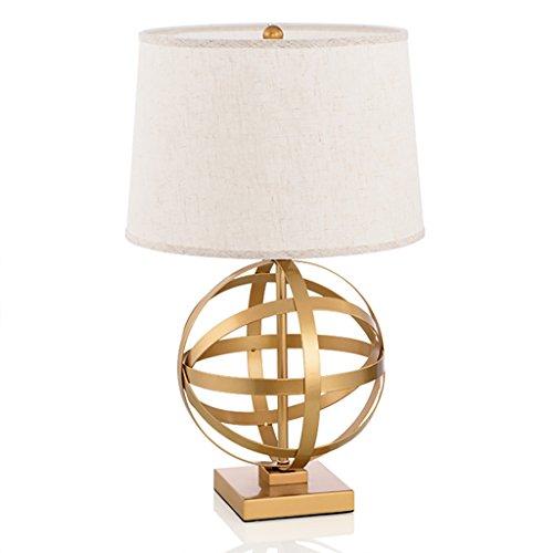 &luce per la lettura Creativo Lampada da tavolo Retro Gold ferro da stiro scrivania Luce Camera...