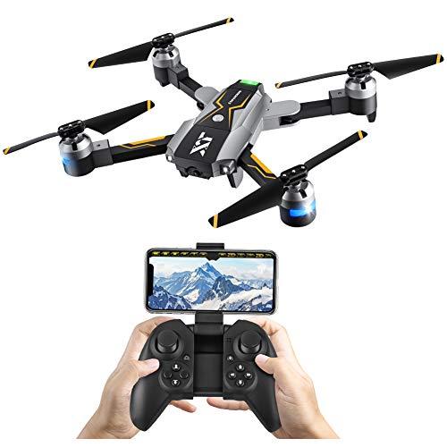 Atoycasa Drone con Telecamera Video, FPV RC Drone GPS 720P HD Wi-Fi Telecamera 2.4GHz 6-ASSE Gyro...