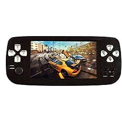 Handheld Spielkonsole ,Anbernic4.3 Zoll 650 Klassische Tragbare Spielkonsole Konsole Support GBA/GBC / GB / SEGA / NES / SFC / NEOGEO (Schwarz)