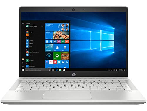 HP Pavilion 14-CE2065TX 14-inch Laptop (8th Gen Core i7-8565U/8GB/512GB SSD/Windows 10, Home/2GB NVIDIA GeForce MX250 Graphics), Mineral Silver