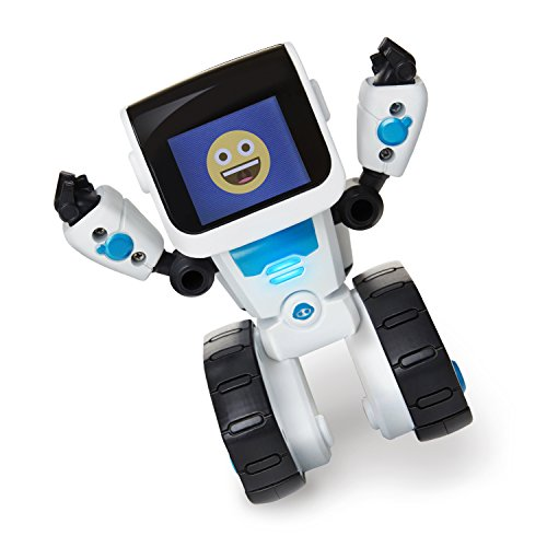 41Ej7qbv5KL - Wow Wee- Robot Inteligente Programable, Color Blanco, S (WowWee 0802)