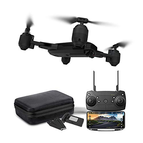 Tianya Drone X Pro 5G Selfi WIFI FPV GPS avec HD Quadcopter pliable RC 1080p pour la famille et les amis (noir) 8