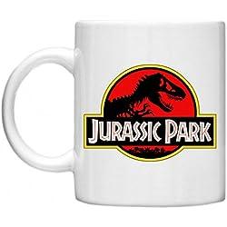 Jurassic Park, T-Rex, GPO Exclsuive Group diseño de taza de Jurassic Park, apta para microondas apto para lavavajillas 11 oz taza