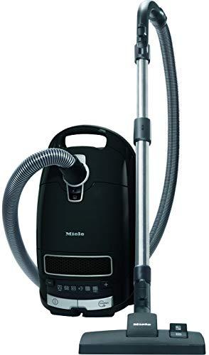 Miele Complete C3 Pure Black Ecoline Aspirapolvere a Traino con Sacco, 550 watts, filtro AirClean,...