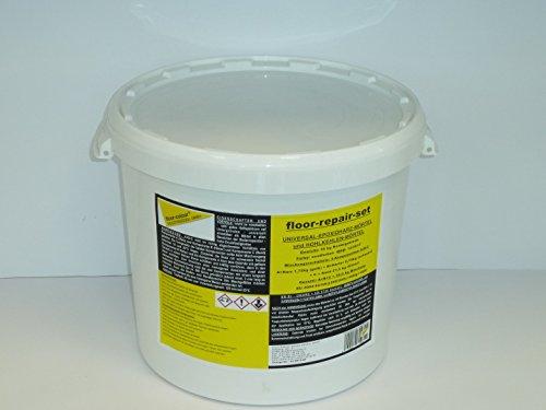 Floor kit repair r sine poxy universel de mortier un for Resine epoxy pour beton