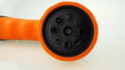 Water-Spray-Hose-Gun-Metal-8-pattern-Sprayer-Nozzles-Garden