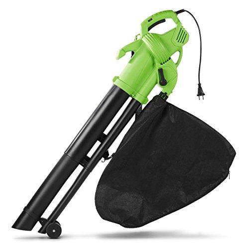 MEDION MD 16907 2600W 270kmh - Soplador de hojas (2600 W, 270 kmh, 35 L, 320 mm, 220 mm, 445 mm)