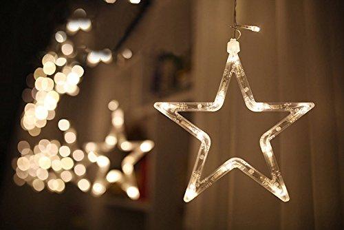 DESHIR Star Curtain Lights