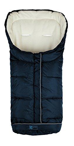 Altabebe AL2203XL-31 Active Lungo Sacco Termico Invernale per Passeggino XL, Blu/Blanc, 12-36 Mesi