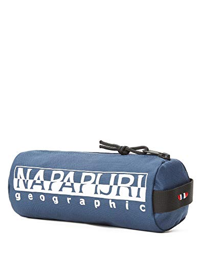 Napapijri Happy Pencil Case 1 Astuccio, 0 cm, blu (Insignia Blue) (Blu) - N0YI0I